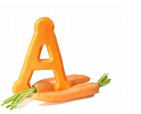 Vitamin A có hai dạng là Retinol và Caroten giúp chăm sóc da